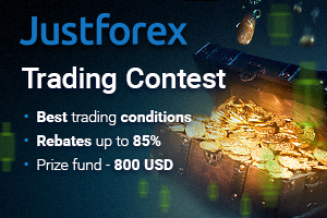 Trading Contest with money prizes from JustForex in cooperation with IAFT!
